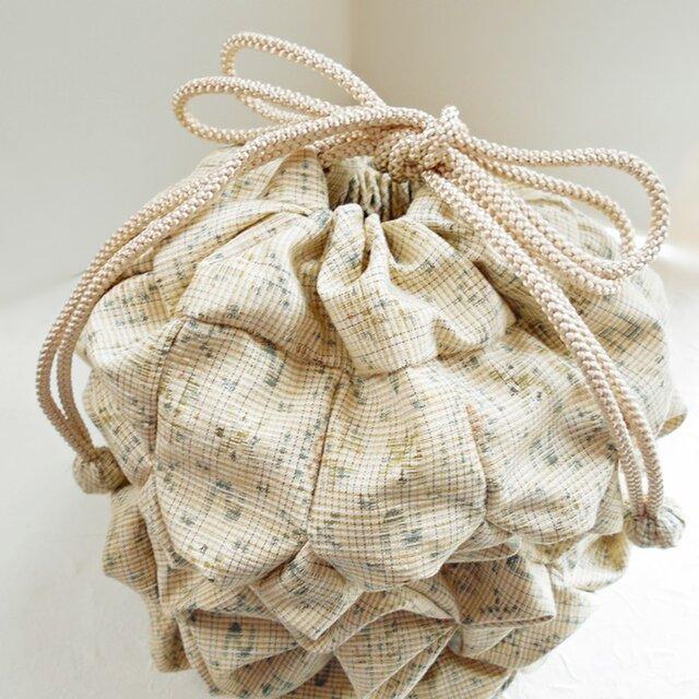 金平糖袋(紬のマンボウ)の画像1枚目