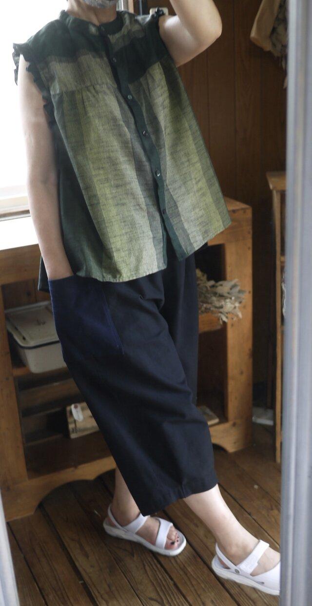 久留米絣セットアップの画像1枚目