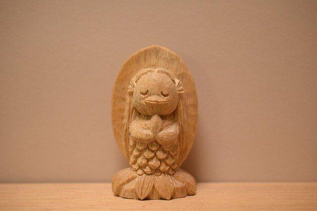 №6小さなアマビエちゃん(売れました)の画像1枚目