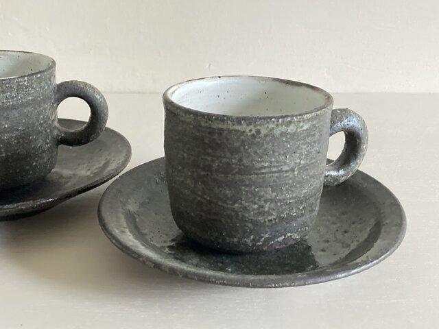 灰釉コーヒーカップの画像1枚目