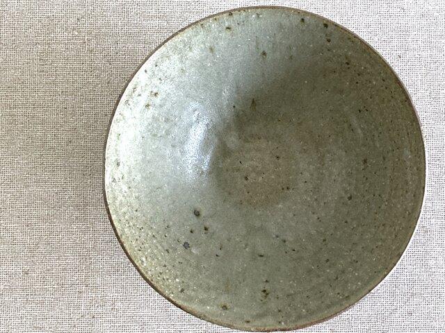 灰釉六寸鉢の画像1枚目