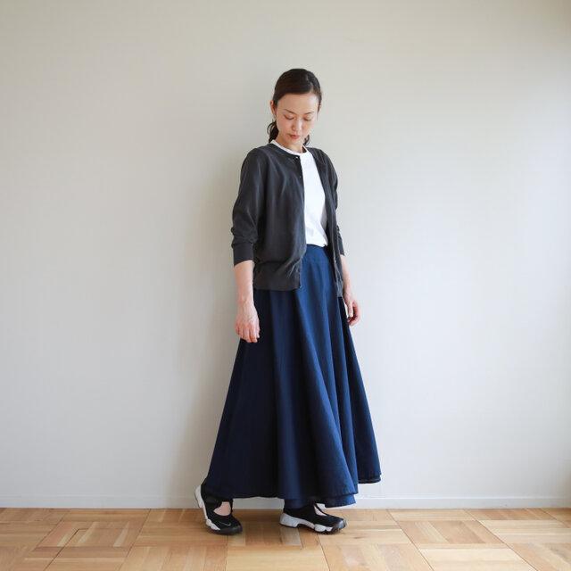 2way FAB skirt / navyの画像1枚目