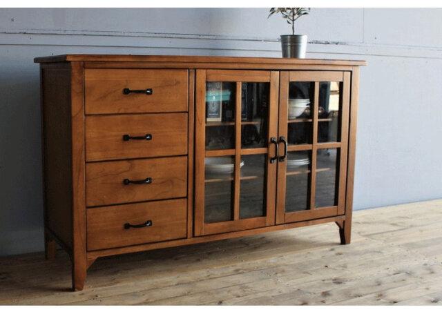 Mindy Wood Cabinet W1200の画像1枚目