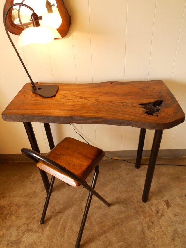 けやきアイアンテーブル08-15 (テーブルのみ)の画像1枚目