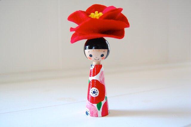 *あなたの為に咲く花*指人形・hand puppet[66]の画像1枚目
