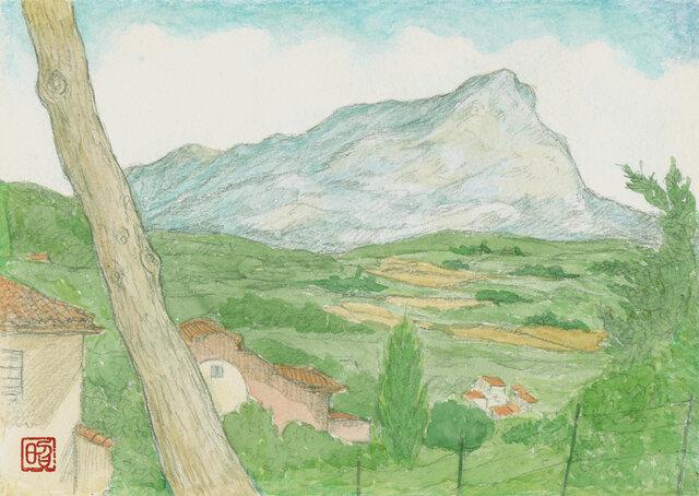 サント・ヴィクトワール山の画像1枚目