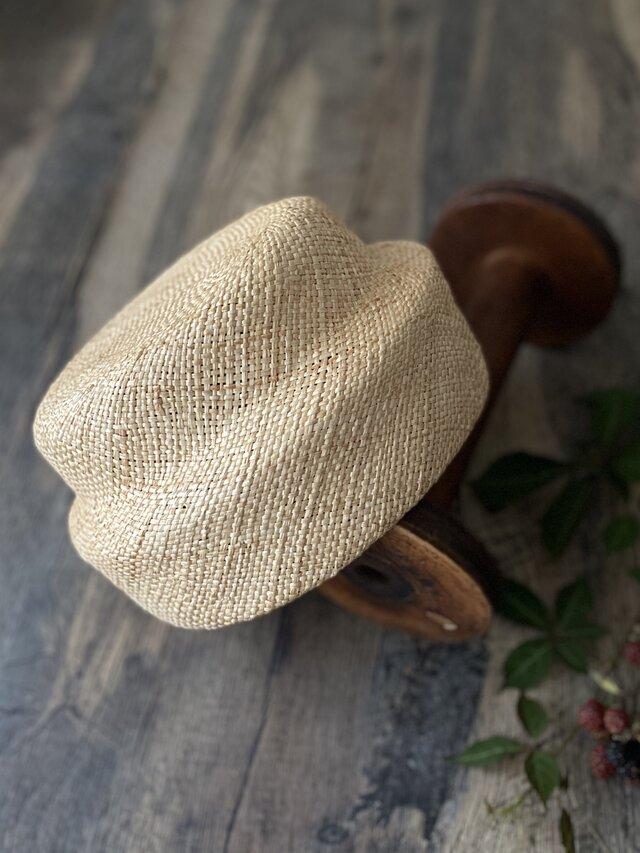 【即納】夏帽 switch beret/naturalの画像1枚目