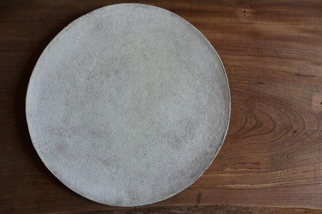 灰釉薬 大皿の画像1枚目