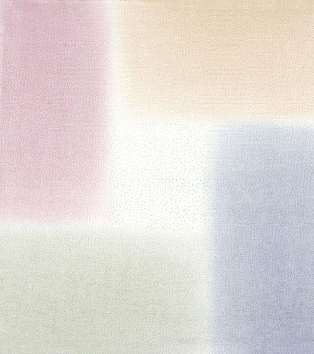 風呂敷 ふろしき    引染 桝取ぼかし ブルー 正絹 絹100% 68cm×68cmの画像1枚目