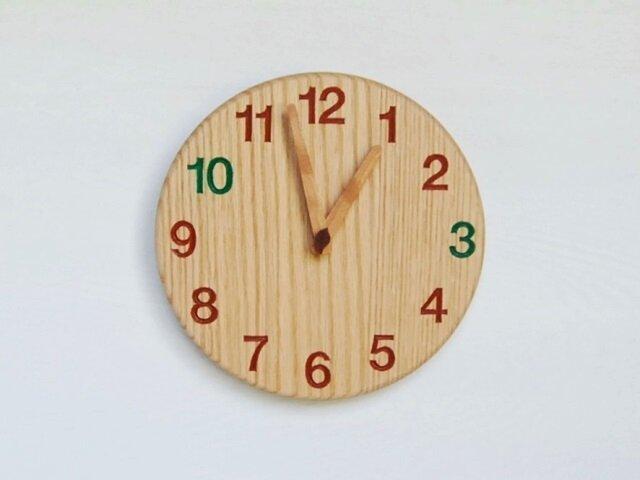 直径23.0cm おやつ時計 オーク【2026】の画像1枚目