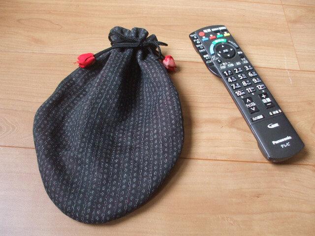 近江上布(麻)から福袋巾着 絹の画像1枚目