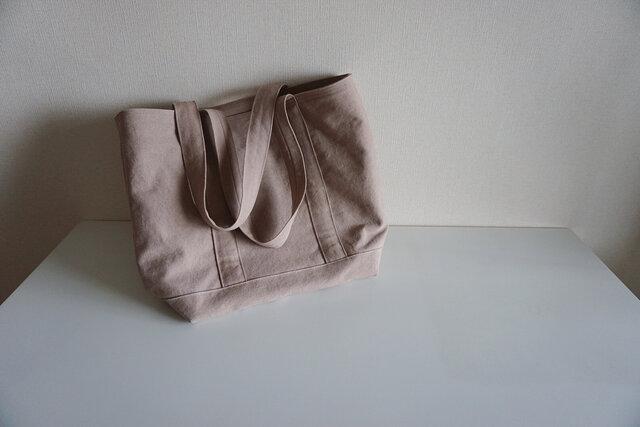 TOTE BAG (2L) / pinkbeigeの画像1枚目