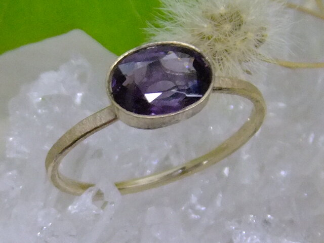 bordeaux spinel*14kgf ringの画像1枚目