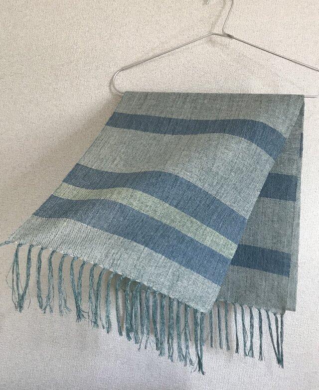 手織りストール A46の画像1枚目