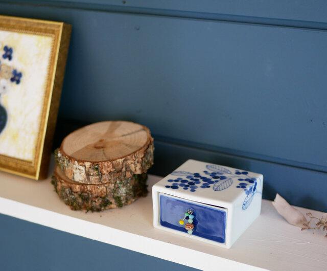 【再販】ミモザの小箱 正方形の画像1枚目
