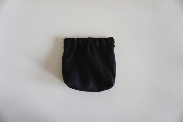 SIMPLE POUCH / blackの画像1枚目