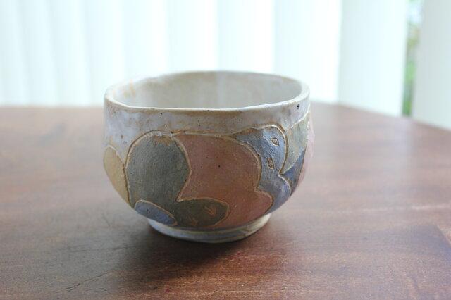 手ひねり 抹茶茶碗の画像1枚目