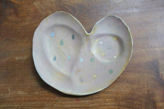 色化粧 取り皿 ピンクの画像1枚目