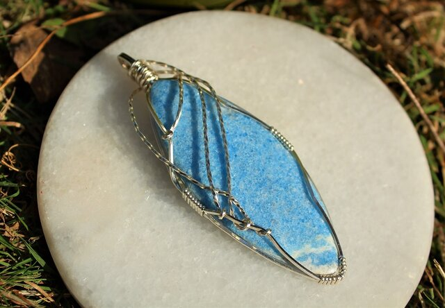 ブルー ビオラン サイキックな才能を目覚めさせ、カルマを癒す石の画像1枚目