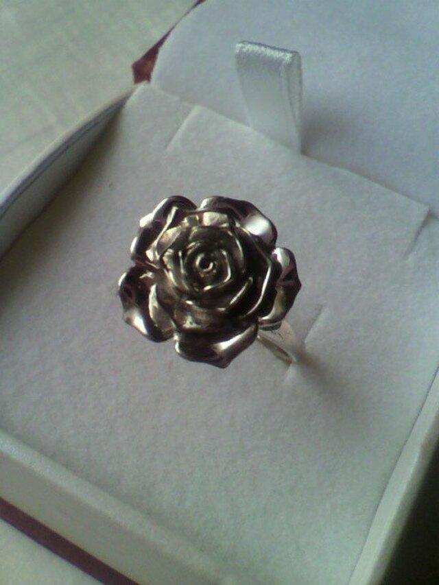 薔薇のリング(指輪)CR-R-002の画像1枚目