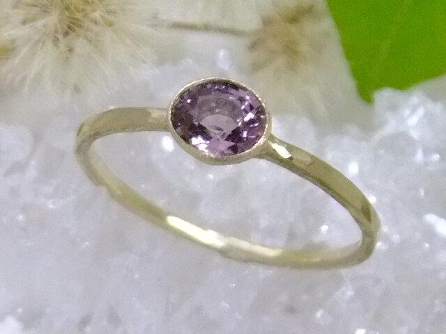 pink spinel*K10 ringの画像1枚目