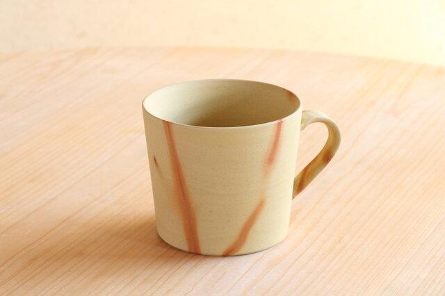 手触りを愉しむ、備前焼マグカップ(コガネ)の画像1枚目