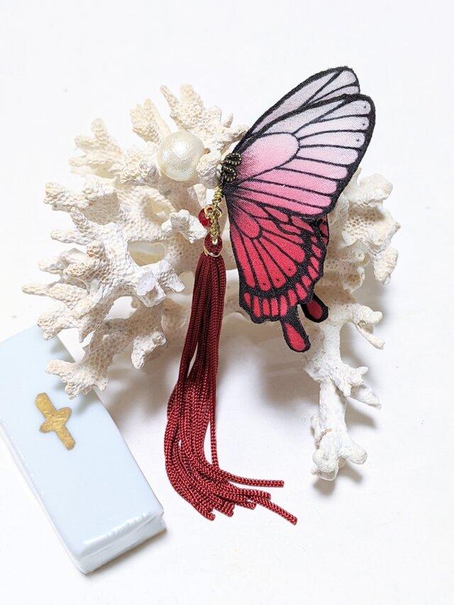 蝶のピアス(大)アゲハの画像1枚目