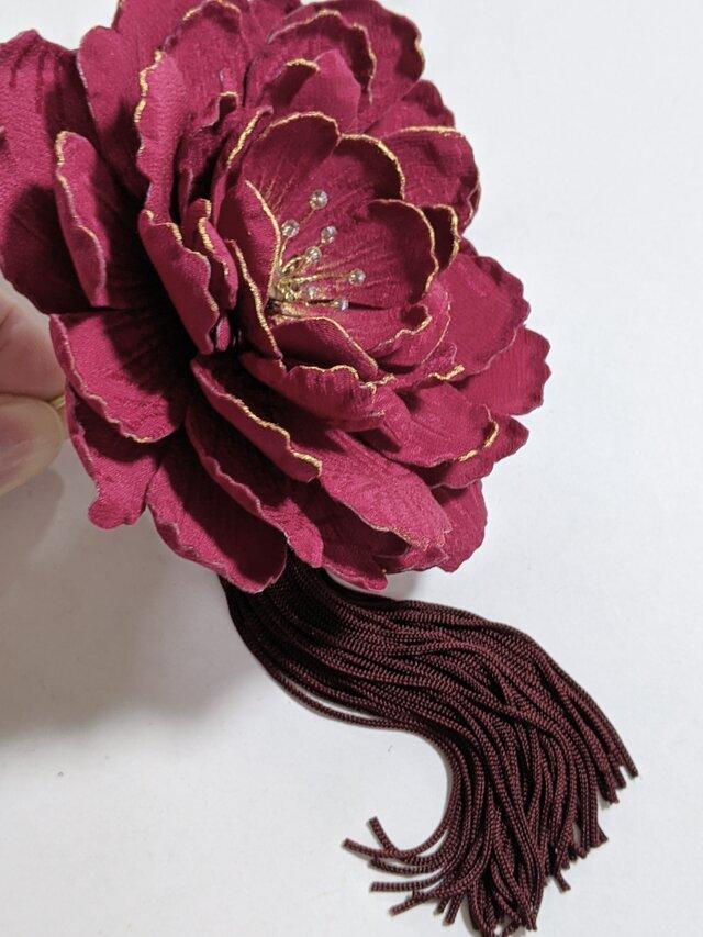 大きな花のかんざしの画像1枚目