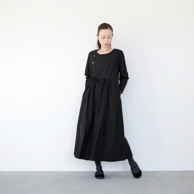 cherry dress / blackの画像1枚目