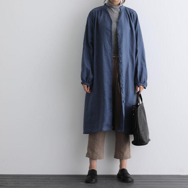 ふんわり着たい、秋色羽織り ワンピース ベルト付き 長袖ワンピース 三色200910-1の画像1枚目