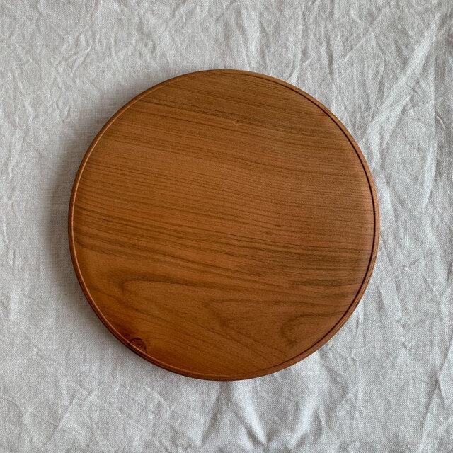 木製カッティングボード(22cm)サクラの画像1枚目
