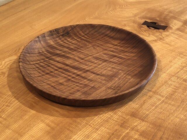 クルミの皿3の画像1枚目