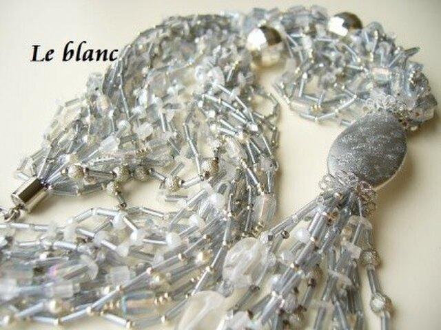 シャイニーネックレス(silver)の画像1枚目