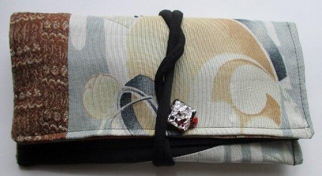 5179 羽織の裏地で作った和風財布・ポーチ #送料無料の画像1枚目