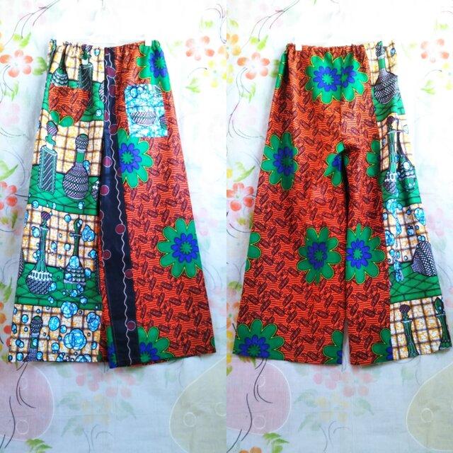アフリカ布パンツの画像1枚目