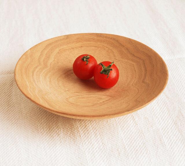 木のお皿・器 くるみ材2の画像1枚目
