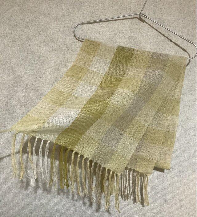手織りストール A49の画像1枚目