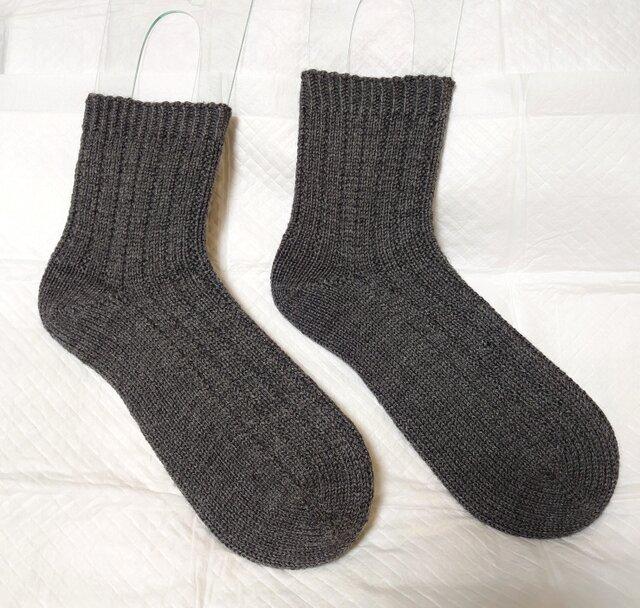 手編み靴下 REGIA 温度調節機能糸の画像1枚目