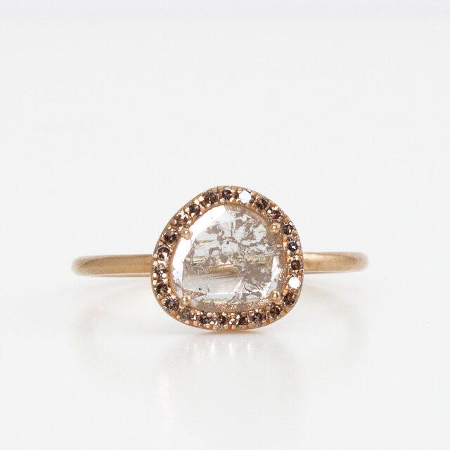 Slice diamond surround ringの画像1枚目