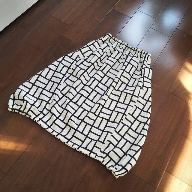 大人バルーンスカートの画像1枚目