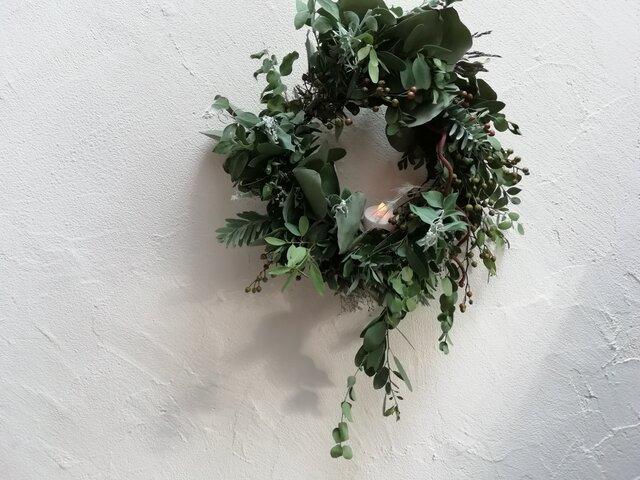 autumn wreath-森ーの画像1枚目