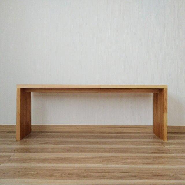 椅子にもなるテーブル【ウォルナットオイル仕上げ】の画像1枚目