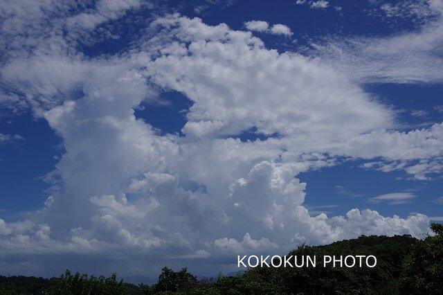 雲のある風景4「ポストカード5枚セット」の画像1枚目