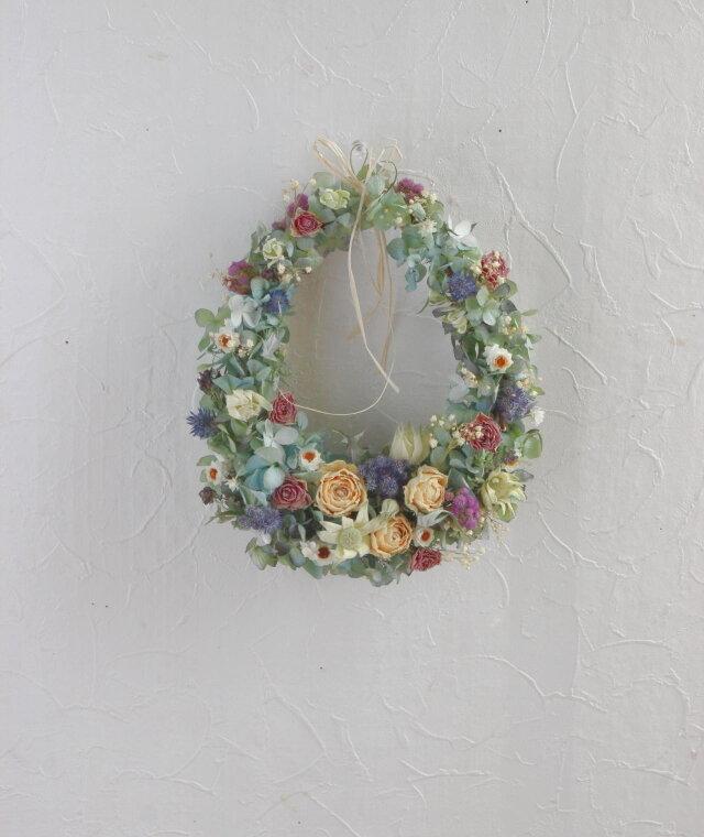 Dulhess color drop wreathの画像1枚目