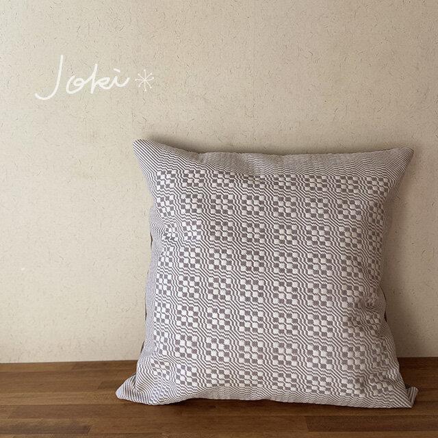 [K様専用ご注文品] cushion coverグレー *他の方はご購入できませんの画像1枚目