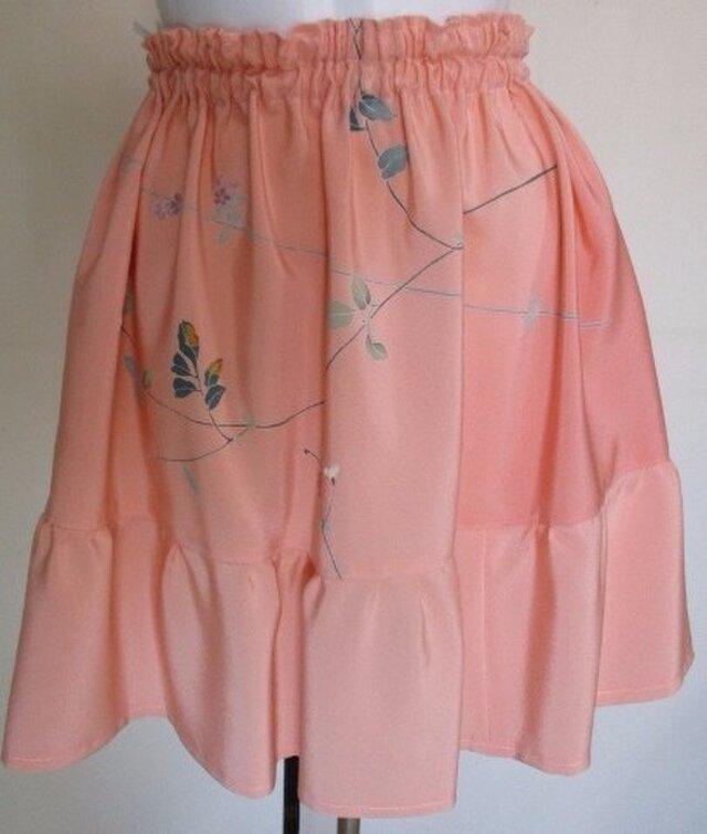 5231 花柄の反物で作ったミニスカート #送料無料の画像1枚目