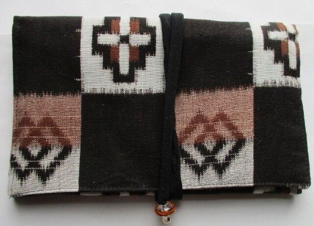 5236 男の子の着物で作った和風財布・ポーチ #送料無料の画像1枚目