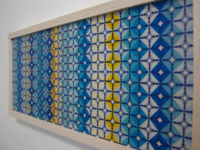 Blue and Yellow pattern designの画像1枚目