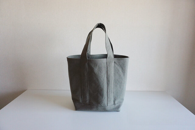 TOTE BAG (L) / middlegrayの画像1枚目
