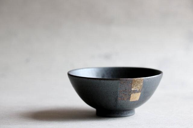 黒釉飯碗(大)の画像1枚目